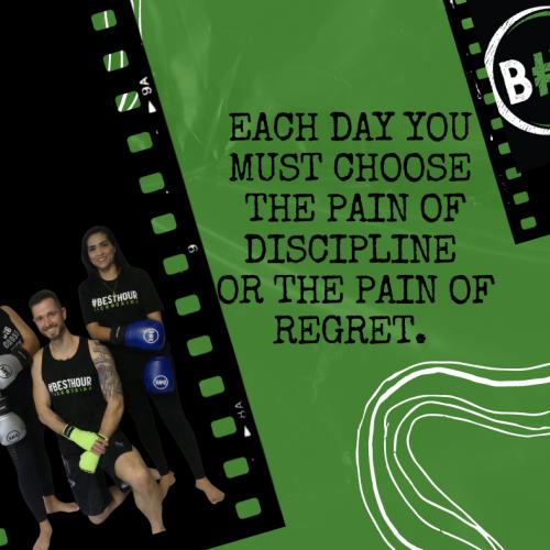 Choose Discipline or Regret(1)
