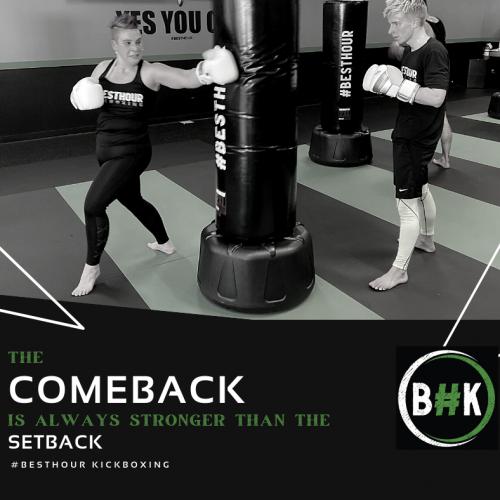 Comeback are better than Setbacks