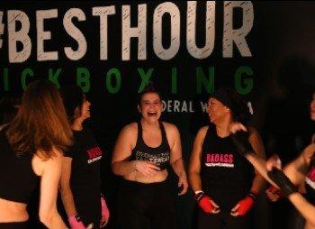 Having a good laugh – Kickboxing is fun!