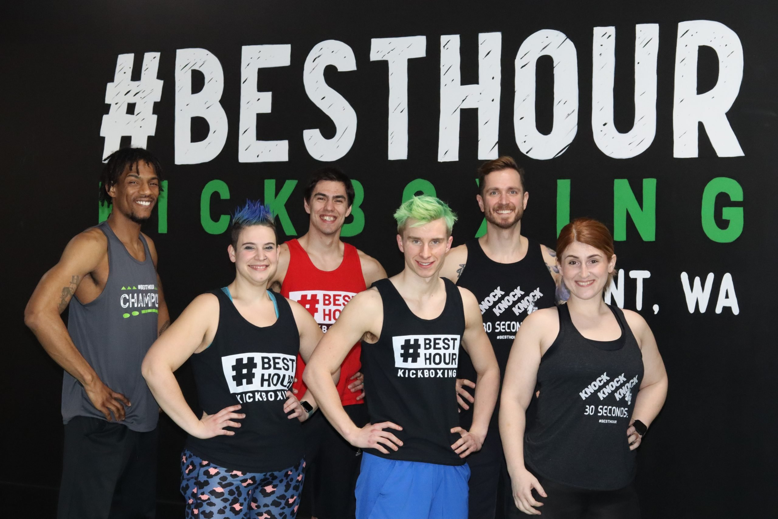 BestHour Kickboxing Instructor Team