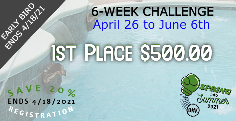 Join our Spring into Summer 6-week Challenge