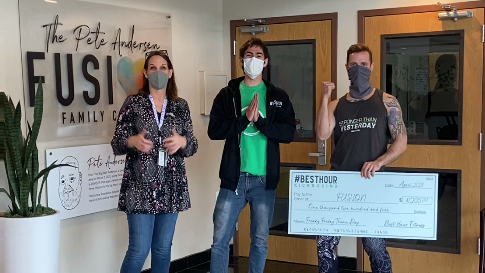 You are currently viewing #BestHour clients donate $1,205 to local charity – Fusion in Federal Way