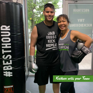 Kickboxing for Teens in Federal Way and Kent, WA
