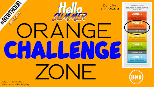 You are currently viewing Hello Summer – Orange Zone Challenge