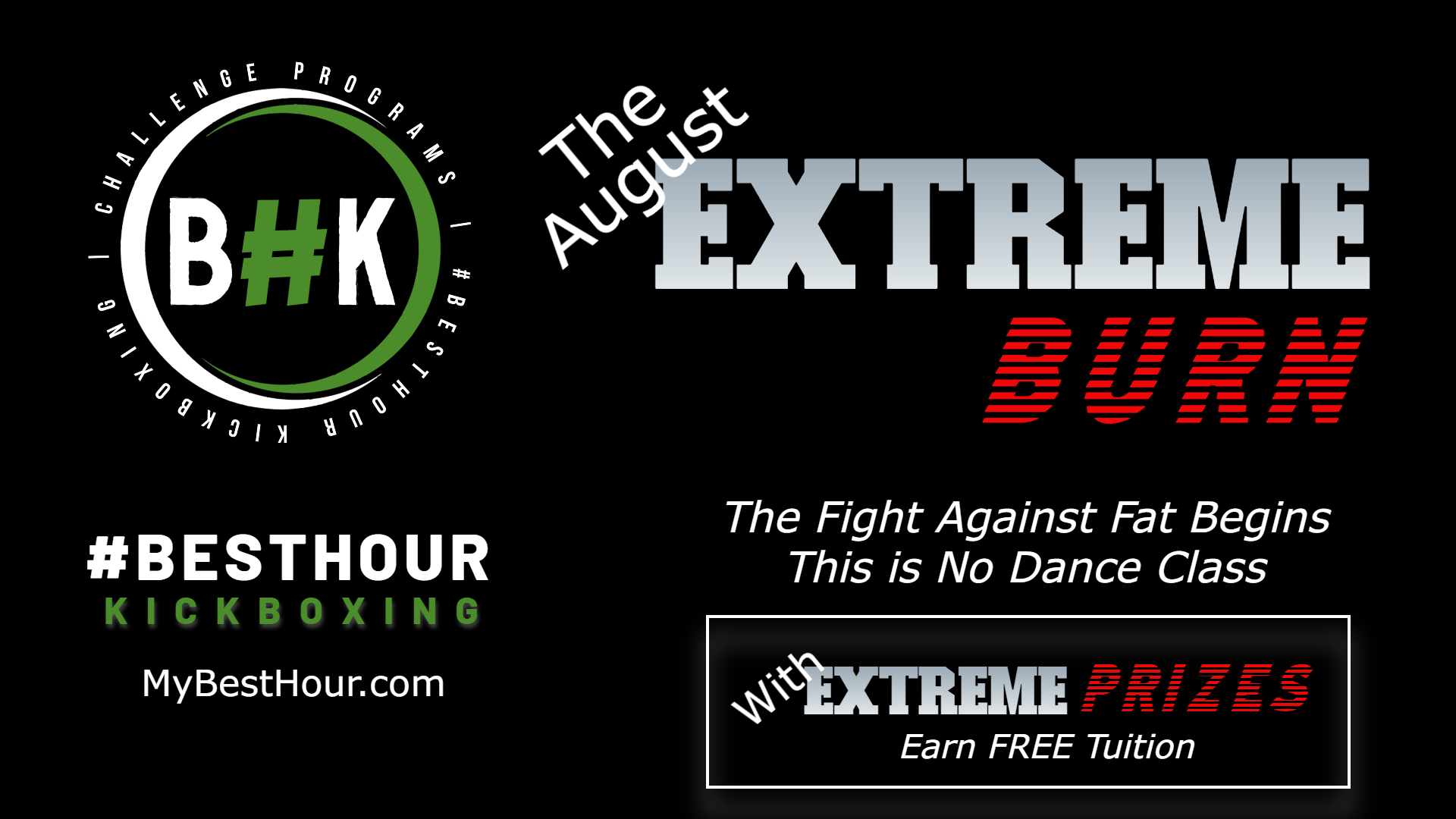 You are currently viewing The August EXTREME Burn (A Difficult Fitness Challenge)