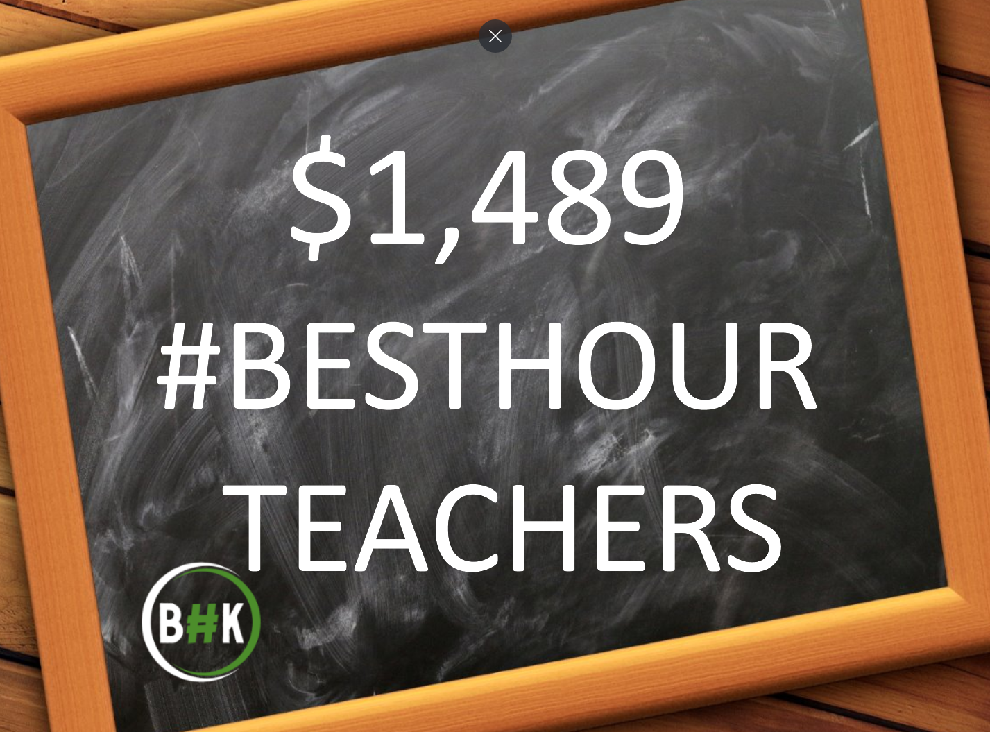 You are currently viewing Local Teachers receive $1,489 for classroom supplies